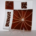 Art-glass-plate-Africa-1